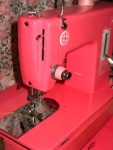 Pink Sears Kenmore Straight Stitch