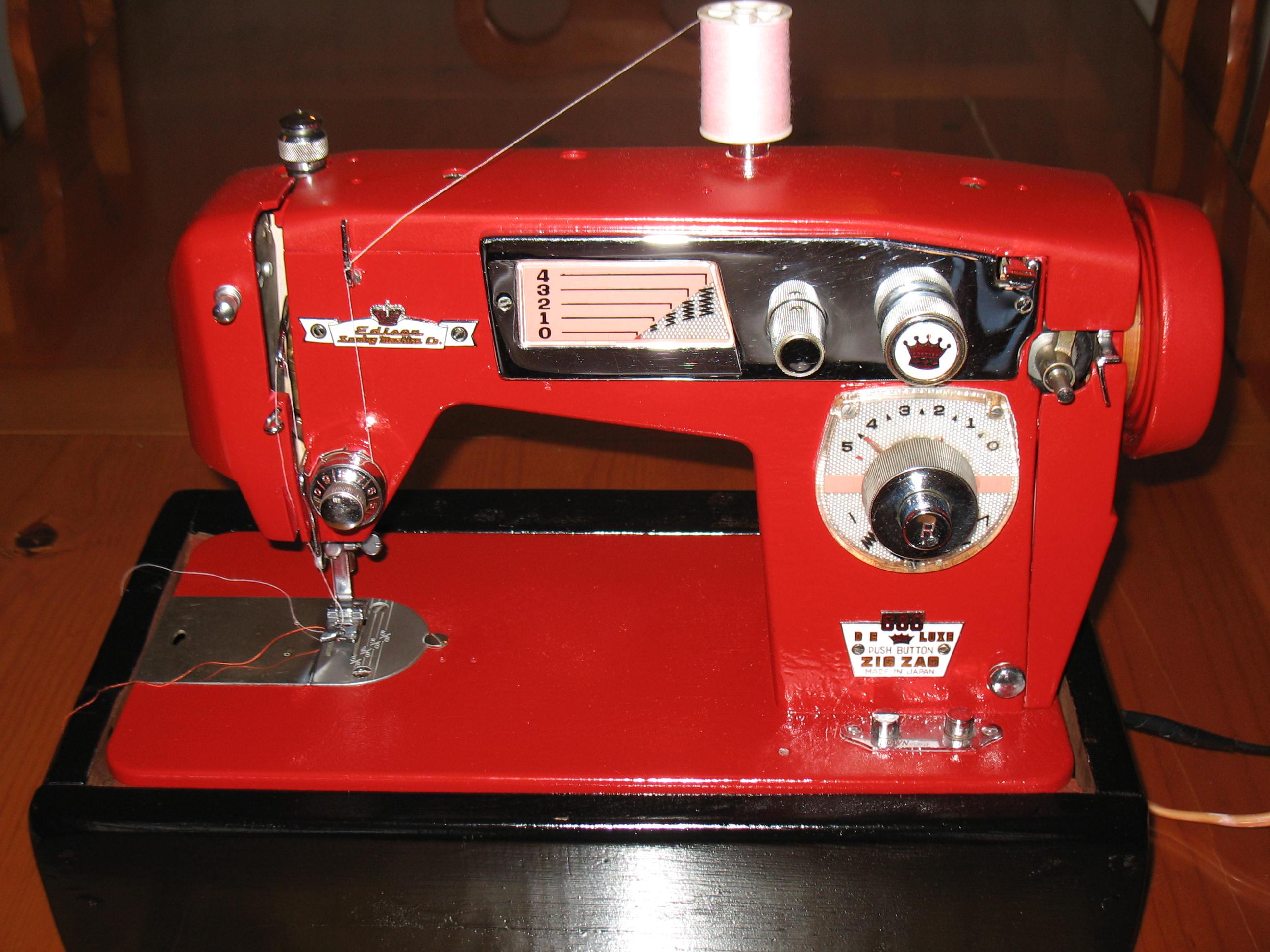 Sewing Machine Problems Stitch Nerd Vintage Threading Guides Edison Zig Zag