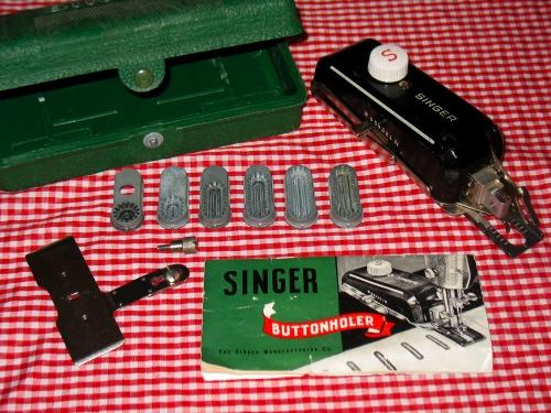 My Vintage Sewing Machine Attachments Stitch Nerd Stunning Vintage Singer Sewing Machine Attachments