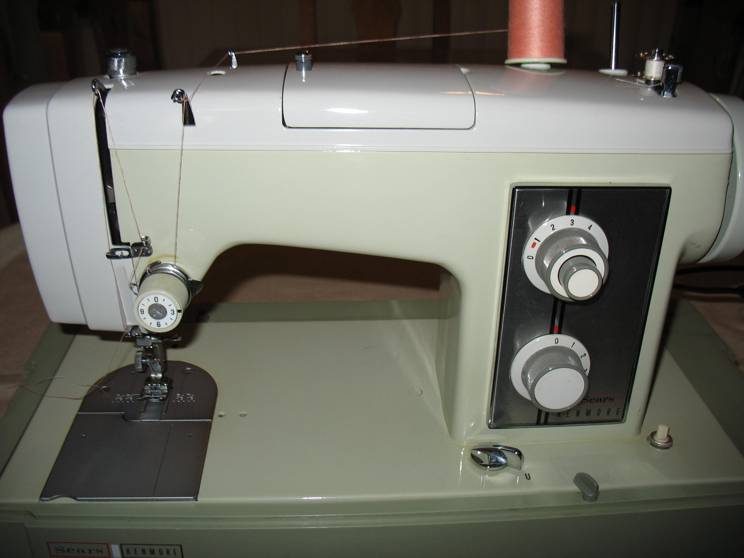 Vintage Sears Kenmore Sewing Machine Stitch Nerd