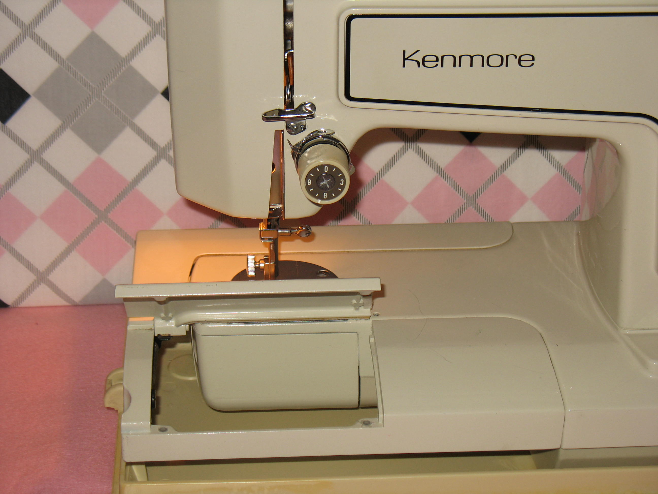 Sears kenmore model 1560 sewing machine a for The kenmore