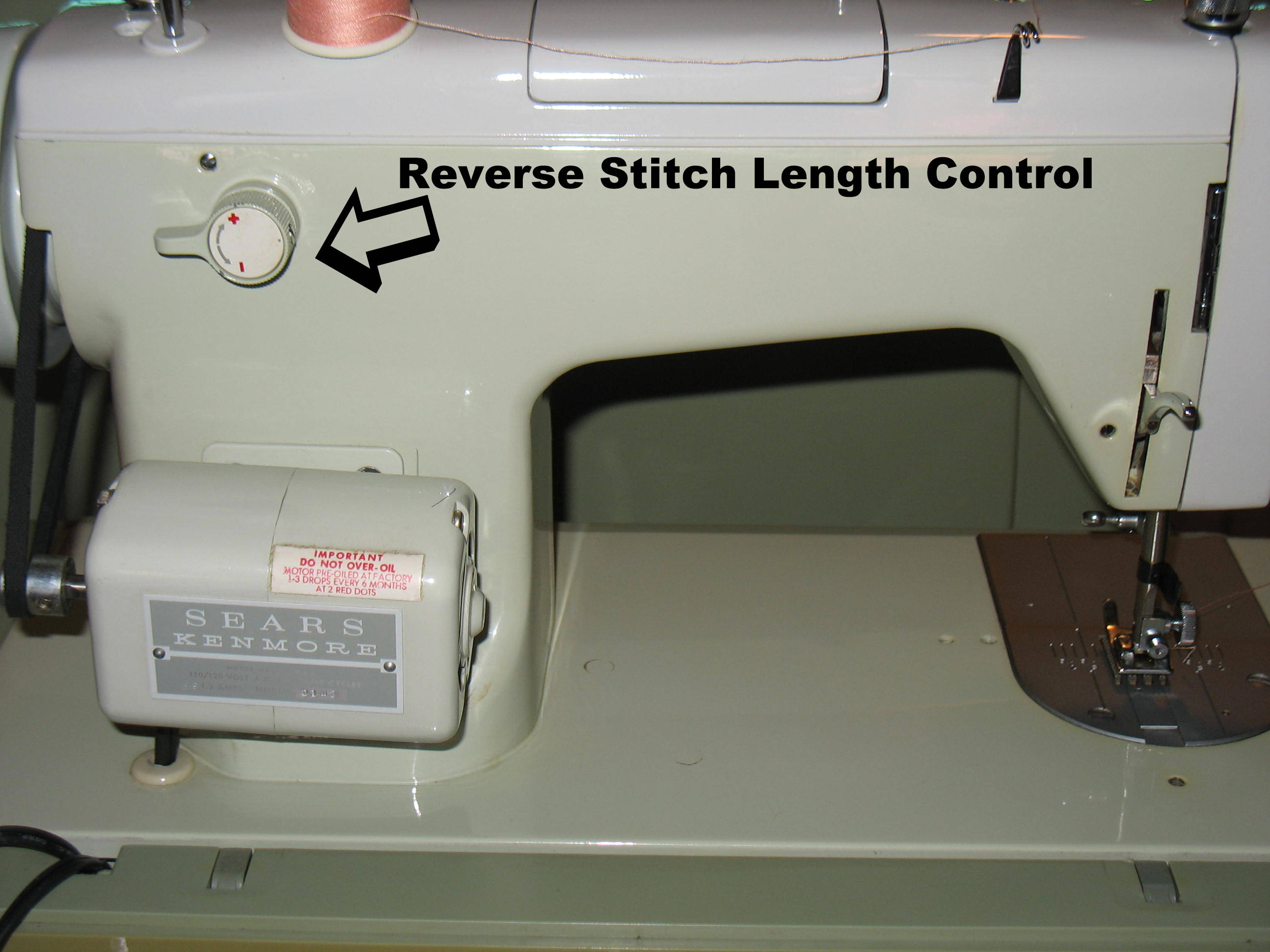 Vintage Sears Kenmore Sewing Machine | Stitch Nerd