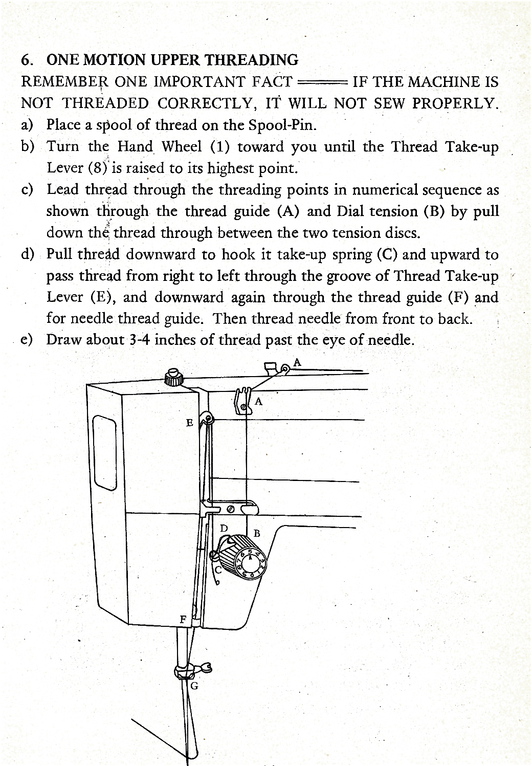 ELGIN 4400F Sewing Machine