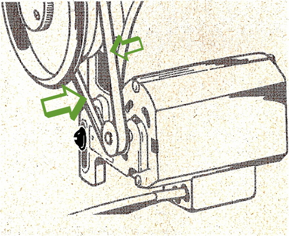sewing machine pulley