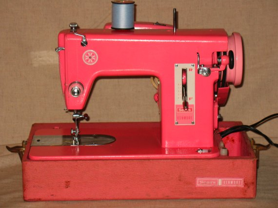 Pink Sears Kenmore Sewing Machine 4040 A Review Stitch Nerd Custom Kenmore Sewing Machine Vintage