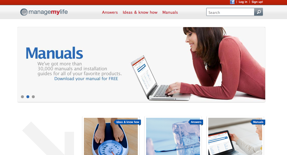 Go to Manage My Life website (a Sears website) and register for free.